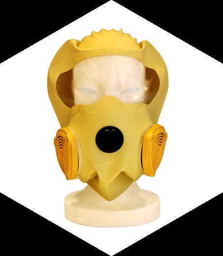 Emergency evacuation mask C
