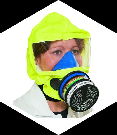 Záchranná evakuační maska B
