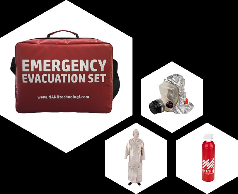 Záchranný evakuační set A